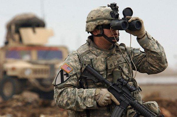 Американские войска в Сирии.