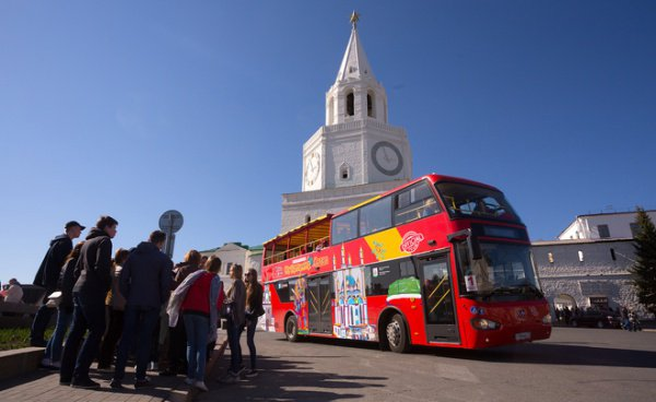 Втекущем году Казань посетили неменее 2 млн туристов