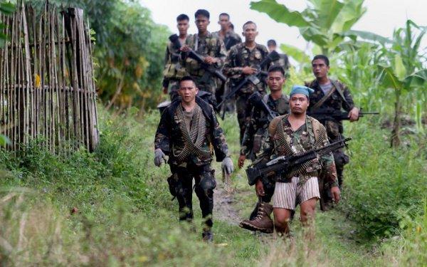 Боевики в Мьянме.