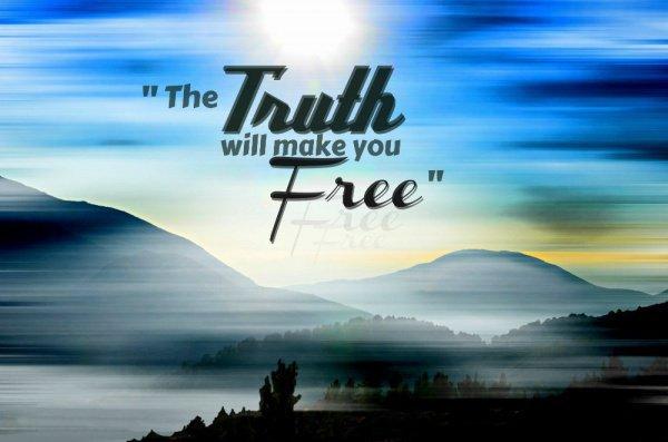 «правда (с)делает тебя свободным»