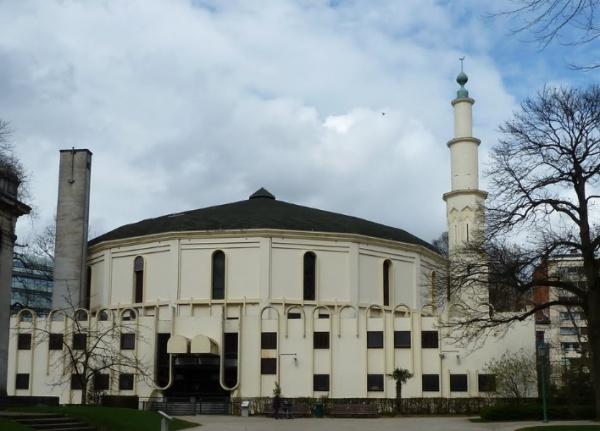 Брюссельская соборная мечеть.