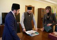 Камиль хазрат Самигуллин встретился с гендиректором Национального музея РТ