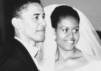 Мишель Обама поздравила мужа с серебряной свадьбой (ФОТО)