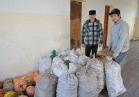 Мухтасибаты Татарстана продолжают раздавать сезонные овощи нуждающимся