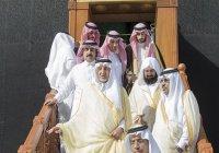 Церемония омовения Каабы прошла в Запретной мечети (Фото)