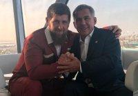 Минниханов поздравил Кадырова с днем рождения