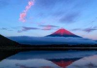Облако в виде змеи появилось над Японией (ВИДЕО)