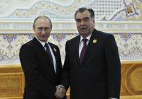 Путин поздравил лидера Таджикистана с юбилеем