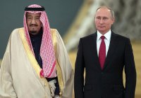 В Кремле завершились переговоры Путина и саудовского короля