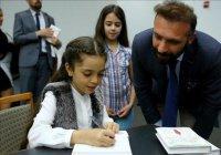 8-летняя девочка написала книгу о войне в Сирии