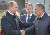 Минниханов поздравил Путина с юбилеем