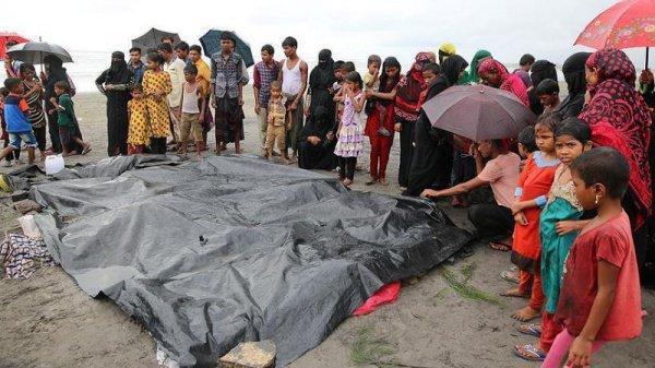 Правительство Бангладеш сообщило о гибели 12 мусульман-рохинья, в том числе 10 детей, во время крушения лодки на реке Наф