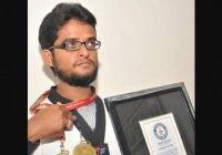 Хафиз Корана из Индии попал в Книгу Гиннесса
