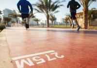 В Дубае установят инновационные беговые дорожки