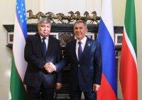 Минниханов встретился с делегацией Узбекистана