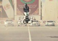 Полиция Дубая показала свои летающие мотоциклы из России (ВИДЕО)