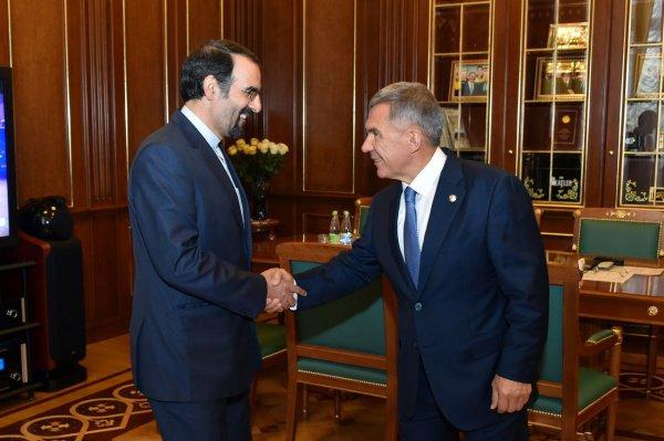 Между правительствами Ирана и Татарстана действует Меморандум о торговом сотрудничестве