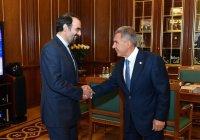 Рустам Минниханов встретился с послом Ирана