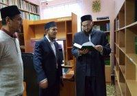 Муфтий Татарстана посетил Мамадышское медресе