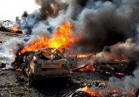 Тройная атака смертников произошла в Дамаске