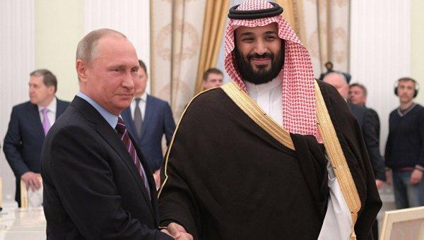 визит короля Саудовской Аравии Мохаммеда бен Салмана в Россию