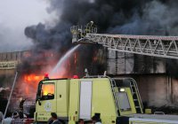 При пожаре в Эр-Рияде погибли 10 человек
