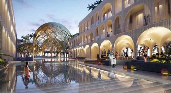 Коралловые рифы, стеклянные стены, номера под водой - такое возможно только в Дубае!