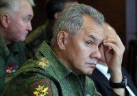 Шойгу заявил о завершении операции в Сирии