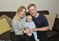 Британка узнала о беременности за 4 часа до родов