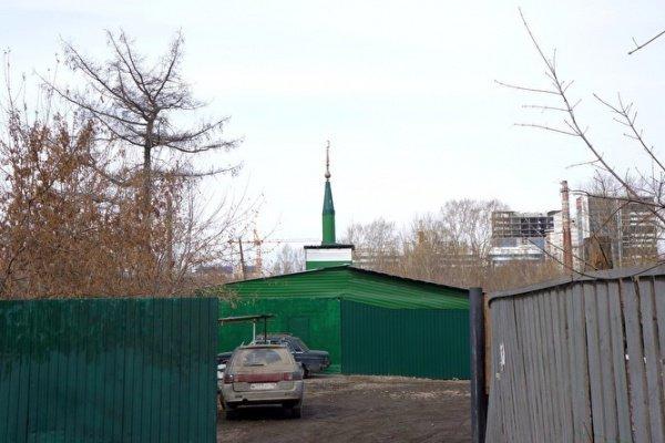 """""""Спорная"""" мечеть в Екатеринбурге."""