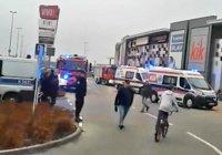 Мужчина с ножом напал на посетителей торгового центра в Польше