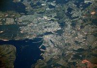 Казань сфотографировали из космоса