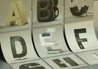 Дизайнер создал алфавит в стиле брендов по производству гаджетов