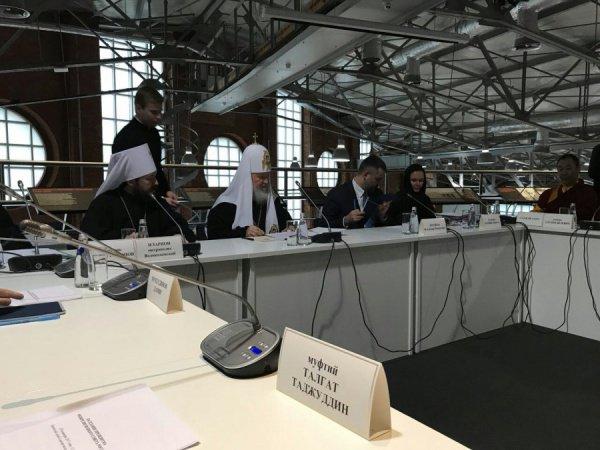 Заседание прошло под председательством Патриарха Кирилла.