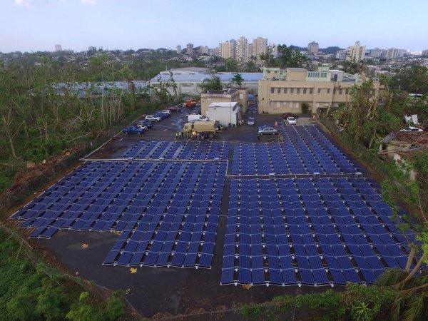 ВПуэрто-Рико Tesla бесплатно оборудовала солнечными батареями детскую клинику