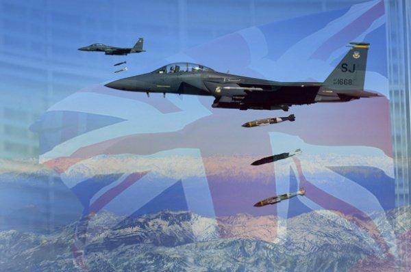 """""""согласно имеющимся данным, до конца сентября текущего года боевая авиация Великобритании сбросила по меньшей мере 3,482 бомб"""""""