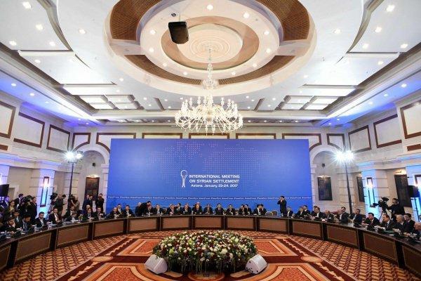 В Астане проходит очередной раунд переговоров по Сирии.