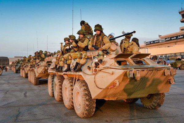 Российские военные помогут Африке.