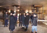 """В Челнах достроили цокольный этаж мечети """"Джамиг"""""""
