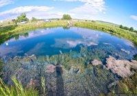 Под Владимиром озеро провалилось под землю