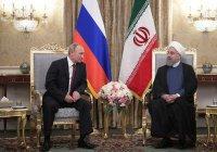 Путин встретился с президентом и Верховным лидером Ирана