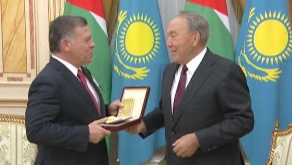 Король Иордании стал первым лауреатом премии.