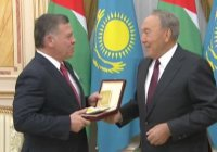 Назарбаев наградил короля Иордании