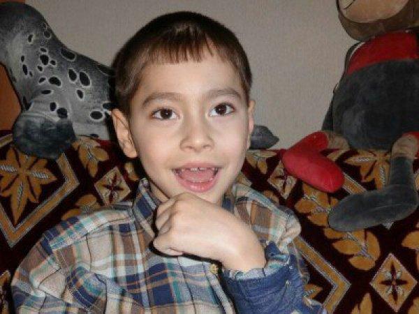 Амир Зиганшин, 9 лет, страдает тяжелой формой ДЦП