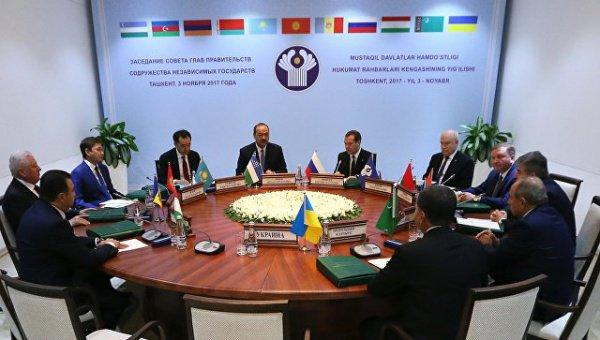Заседание глав правительств стран СНГ проходит в Ташкенте.