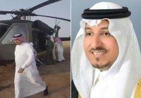 Саудовский принц погиб в результате авиакатастрофы