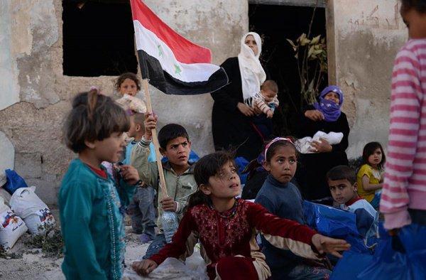 Эксперты провели соцопрос среди жителей Сирии.