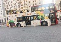 В Медине запустили туристические автобусы