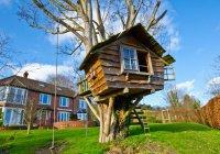 В Британии домик на дереве может стать строением года