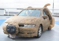 Британец сделал из своей машины плюшевую собаку (ФОТО)